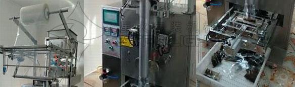 火锅底料包装机械细节实拍